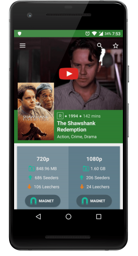 YIFY App Main Features